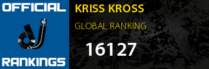 KRISS KROSS GLOBAL RANKING