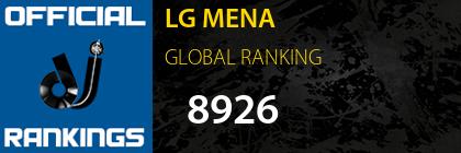 LG MENA GLOBAL RANKING