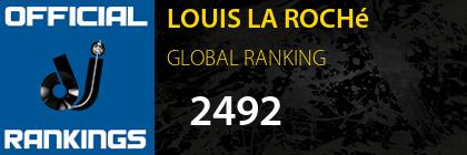 LOUIS LA ROCHé GLOBAL RANKING