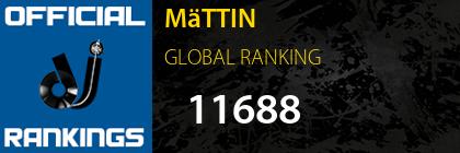 MäTTIN GLOBAL RANKING