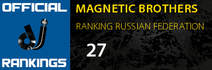 MAGNETIC BROTHERS RANKING RUSSIAN FEDERATION