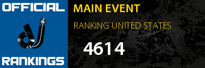 MAIN EVENT RANKING UNITED STATES