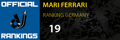 MARI FERRARI RANKING GERMANY