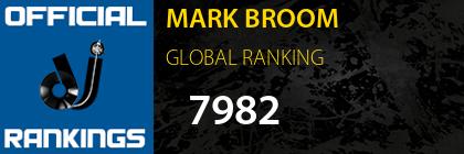 MARK BROOM GLOBAL RANKING