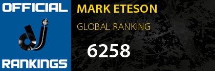 MARK ETESON GLOBAL RANKING