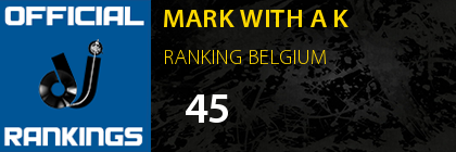 MARK WITH A K RANKING BELGIUM