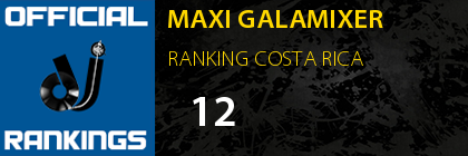 MAXI GALAMIXER RANKING COSTA RICA
