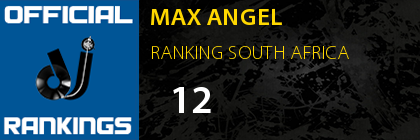 MAX ANGEL RANKING SOUTH AFRICA