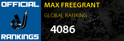 MAX FREEGRANT GLOBAL RANKING