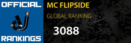 MC FLIPSIDE GLOBAL RANKING