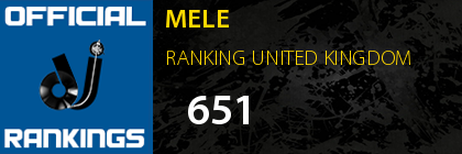 MELE RANKING UNITED KINGDOM