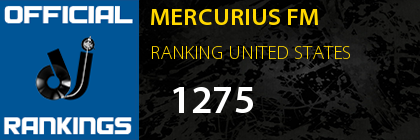 MERCURIUS FM RANKING UNITED STATES