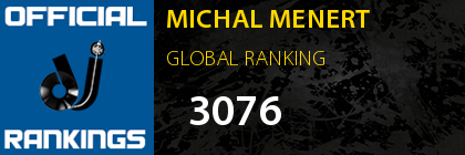 MICHAL MENERT GLOBAL RANKING