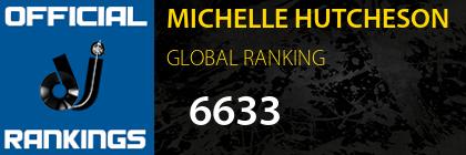 MICHELLE HUTCHESON GLOBAL RANKING