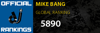 MIKE BANG GLOBAL RANKING