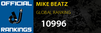 MIKE BEATZ GLOBAL RANKING