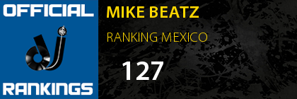 MIKE BEATZ RANKING MEXICO