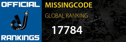 MISSINGCODE GLOBAL RANKING