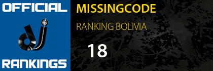 MISSINGCODE RANKING BOLIVIA