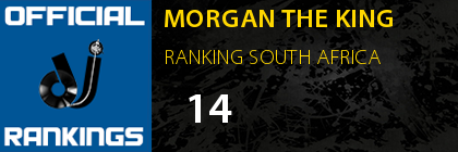 MORGAN THE KING RANKING SOUTH AFRICA