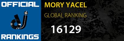 MORY YACEL GLOBAL RANKING