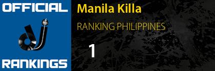 Manila Killa RANKING PHILIPPINES