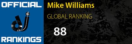 Mike Williams GLOBAL RANKING