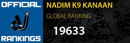 NADIM K9 KANAAN GLOBAL RANKING