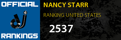 NANCY STARR RANKING UNITED STATES