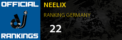 NEELIX RANKING GERMANY