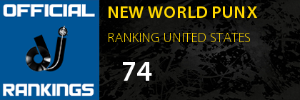 NEW WORLD PUNX RANKING USA