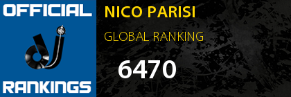 NICO PARISI GLOBAL RANKING