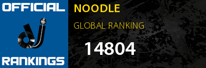 NOODLE GLOBAL RANKING