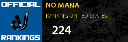 NO MANA RANKING UNITED STATES