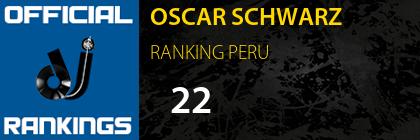 OSCAR SCHWARZ RANKING PERU