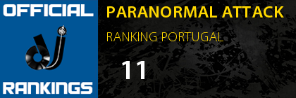 PARANORMAL ATTACK RANKING PORTUGAL