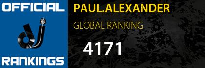 PAUL.ALEXANDER GLOBAL RANKING