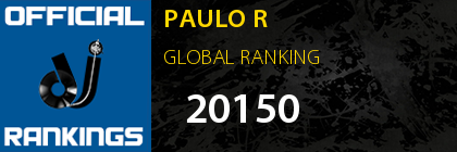 PAULO R GLOBAL RANKING