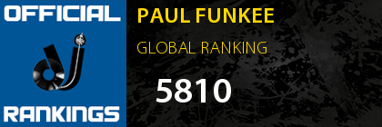 PAUL FUNKEE GLOBAL RANKING