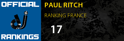 PAUL RITCH RANKING FRANCE