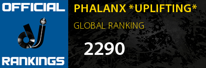 PHALANX *UPLIFTING* GLOBAL RANKING