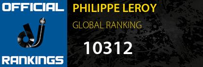 PHILIPPE LEROY GLOBAL RANKING