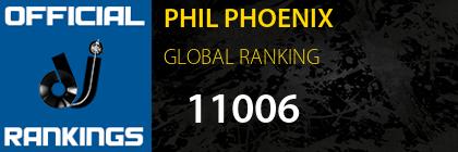 PHIL PHOENIX GLOBAL RANKING