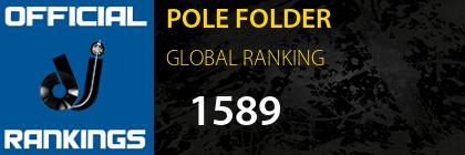 POLE FOLDER GLOBAL RANKING