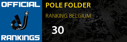POLE FOLDER RANKING BELGIUM