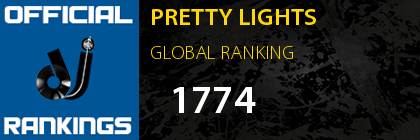 PRETTY LIGHTS GLOBAL RANKING