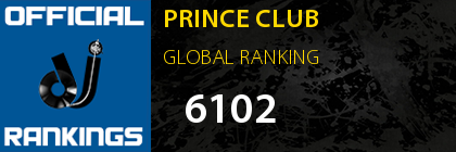 PRINCE CLUB GLOBAL RANKING