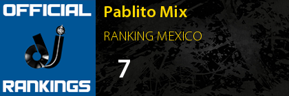 Pablito Mix RANKING MEXICO