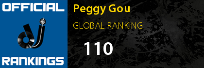 Peggy Gou GLOBAL RANKING