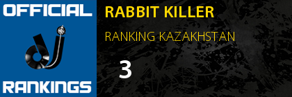 RABBIT KILLER RANKING KAZAKHSTAN